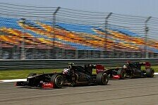 Formel 1 - Aggressive Entwicklungsstrategie: Lotus Renault: Neue Teile in Barcelona