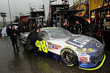 NASCAR - Kein Qualifying auf der Monster-Mile in Dover: Regen-Pole f�r Jimmy Johnson