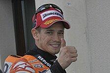 MotoGP - Ausgesprochen: Stoner & de Puniet r�umen Vorfall aus