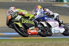 Moto2 - Terol und Simon die Schnellsten: Privattest unter spanischer Sonne