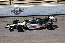 IndyCar - Favoriten straucheln: Tagliani holt wichtigste Pole des Jahres