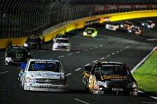 NASCAR - CWTS: Kyle Busch gewinnt in Charlotte vor Clint Bowyer: Platz 15 f�r Kimi R�ikk�nen beim Truck-Deb�t