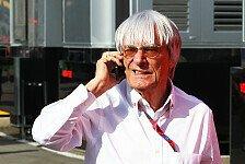 Formel 1 - Wie beim Pferderennen: Ecclestone interessiert Concorde Agreement nicht