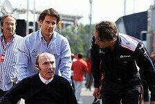 Formel 1 - Segen von Sir Frank: Williams: Parr legitimer Nachfolger