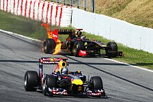 Formel 1 - Feuer bei Heidfeld: 3. Training: Vettel ohne �bung zur Bestzeit