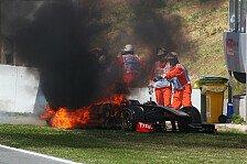 Formel 1 - Gebrochener Auspuff l�ste Feuer aus: Heidfeld: Qualifying-Start fraglich