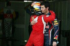 Formel 1 - Vettel-Flirt als Vorbild?: Blog - Webber schwingt die Ferrari-Keule