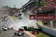 GP2 - Keine Fehler erlaubt: Jules Bianchi mit dem R�cken zur Wand