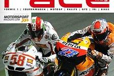 MotoGP - Zickenkrieg auf zwei R�dern: Neues RACEmag kostenlos online lesen