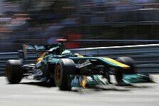 Formel 1 - Erwartungen waren zu hoch: Kovalainen: Fabrik ist nicht gut genug