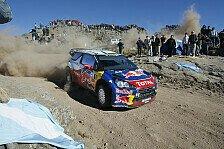 WRC - Um Haaresbreite: Loeb: Argentinien ist mein Jagdrevier