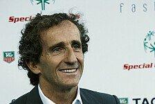 Formel 1 - Viel Leidenschaft f�r die Formel 1 : Renault: Mehr Verantwortung f�r Prost