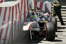 Formel 1 - Perez: Unfall ist abgehakt