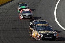 NASCAR - Kimi R�ikk�nen wurde die Boxengasse zum Verh�ngnis: Nationwide: Matt Kenseth siegt vor Carl Edwards