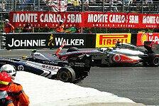 Formel 1 - Strafe ein Witz: Massa & Maldonado: H�rtere Strafe f�r Hamilton