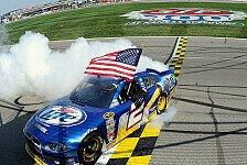NASCAR - Kurt Busch wurde nicht belohnt: Brad Keselowski gewinnt Kansas-Benzinkrimi