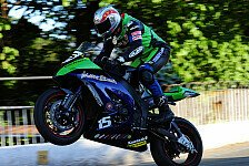 Bikes - Gl�ck und K�nnen: TT2011 - Video: Kneen f�ngt in Senior TT Sturz ab