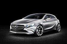 Auto - Ausblick auf neue Generation Kompaktwagen: Mercedes-Benz Studie: Concept A-Class