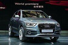 Auto - Kompakter Premium-SUV : Produktionsstart: Audi Q3 geht in Serie