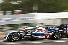 Mehr Motorsport - S�bastien Bourdais f�hrt Bestzeit: Le Mans - Peugeot gewinnt Warm-Up