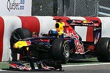 Formel 1 - Bilder: Vorsicht Mauern! Unf�lle beim Kanada GP