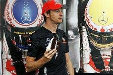 Formel 1 - Keine Kohlenhydrate f�r Button: Gewichtslimit: Die Piloten sind ver�rgert