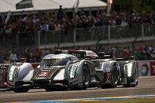 Mehr Motorsport - Startnummer 2 baut F�hrung aus: Le Mans 7/24h - Audi festigt Spitzenposition