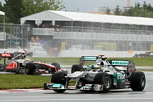 Formel 1 - Schwierig das Risiko abzusch�tzen: Rosberg fuhr auf Kobayashi auf