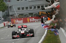 Formel 1 - Bilderserie: Zum 250. GP: Jenson Buttons Highlights