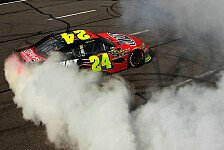 NASCAR - Nachtr�glicher Punkteabzug f�r Kyle Busch: Jeff Gordon gewinnt vor den Busch-Br�dern