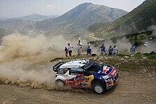 WRC - Loeb siegt �ber die Dunkelheit: Loeb �bernimmt die Spitze in Griechenland