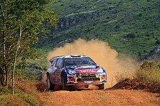 WRC - Citroen-Duo an der Spitze: Loeb f�hrt nach SS3