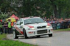 DRM - Rallye Krkonose endet auf Podest: Matthias Kahle bei Gastspiel Dritter