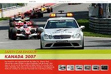 Formel 1 - Sicherheit f�hrt vor: RACEmag: Das Safety Car unter der Lupe