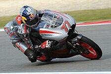 Moto3 - Hand schlief ein: Schr�tter freut sich �ber 5 Punkte