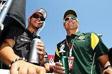 Formel 1 - Mental stark, konstant & sehr schnell: Hamilton: Lob f�r Ex-Teamkollege Kovalainen