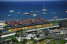 Formel 1 - Valencia reduziert die Zuschauerplätze
