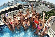 Formel 1 - Bilder: Red Bull Pool-Party