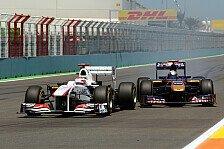 Formel 1 - Herausforderung Überholmanöver