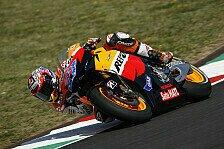 MotoGP - Regen beendet die Qualifikation vorzeitig: Stoner mit Rundenrekord auf die Pole