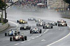 F3 Euro Series - Rennen vorzeitig abgebrochen: Marciello gewinnt Regen-Chaos
