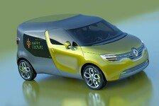Auto - Concept Car f�r Beruf und Familie: Kombivan-Studie: Renault Frendzy
