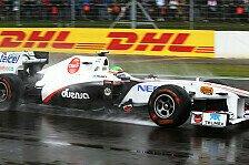 Formel 1 - Auf der letzten schnellen Runde hat alles gepasst: Sauber sieht sich in guter Ausgangsposition