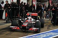 Formel 1 - Buttons Reifenverlust kostet Geld: Unsicher: Geldstrafen f�r McLaren und Sauber