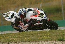 Superbike - Trotz starker Schmerzen Vierter: Fabrizio sehr gl�cklich