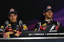 Formel 1 - Treffe die Entscheidung nicht: Vettel k�mmert Webber-Diskussion nicht