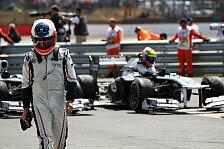 Formel 1 - Mit Barrichello 2.0 zu Renault 2.0: Williams plant auch 2012 mit seinen Fahrern