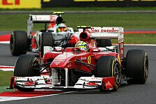 Formel 1 - Emotionaler Moment in Silverstone: Gro�e Freude bei Ferrari