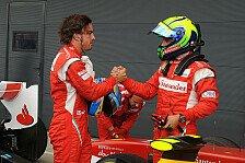 Formel 1 - Ferrari ist Alonsos Team: Villeneuve: Keine Zweifel an Massa