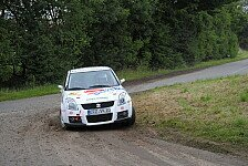 DRS - Historisch und viel Tradition: Dr. Henry Wichura bei der Warburg Rallye